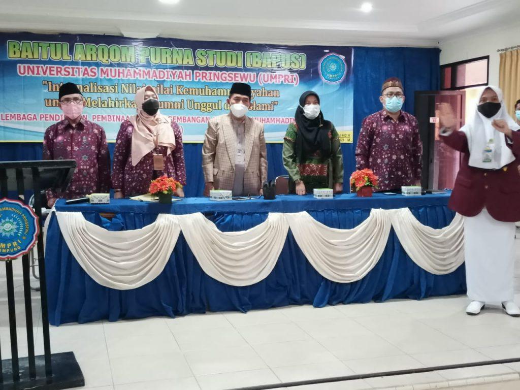 Baitul Arqom Purna Studi UM Pringsewu Lampung