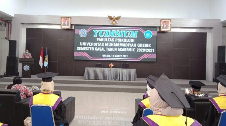 UMG Adakan Yudisium Fakultas Psikologi