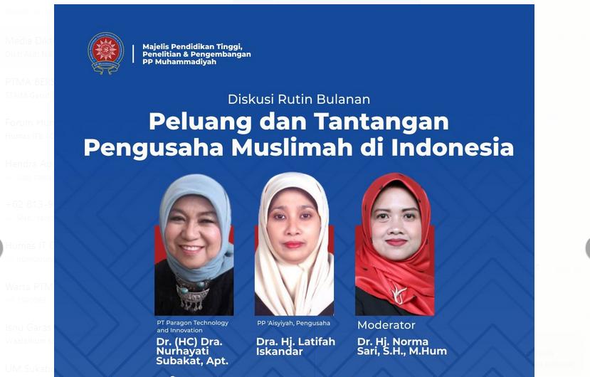 Peluang dan Tantangan Pengusaha Muslimah di Indonesia