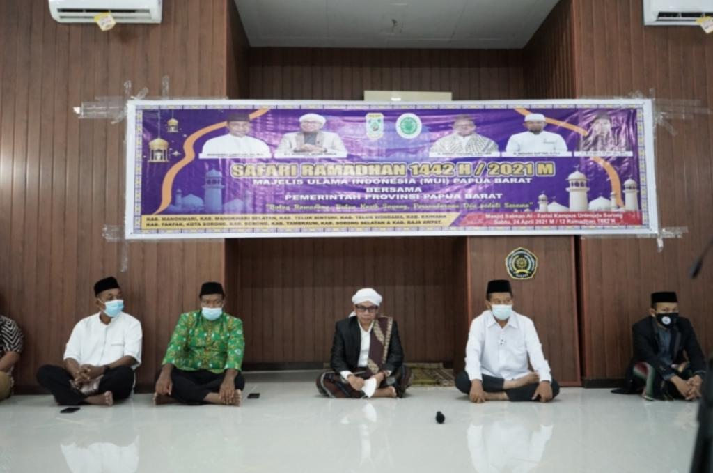 Unimuda Sorong menjadi Lokasi Agenda Safari Ramadhan