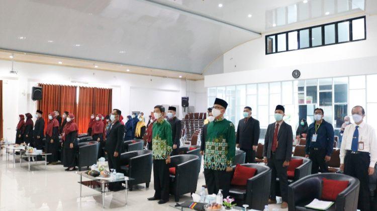 Prosesi Pelantikan Ketua Prodi IKesT Muhammadiyah Palembang