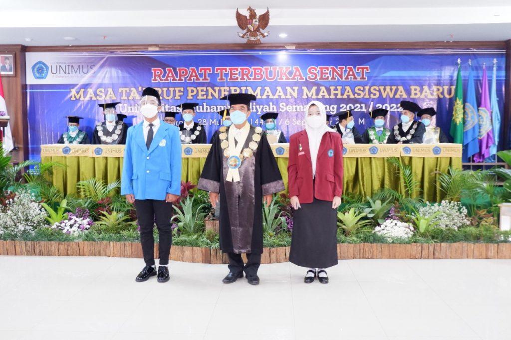 Unimus Lantik 3067 Mahasiswa Baru