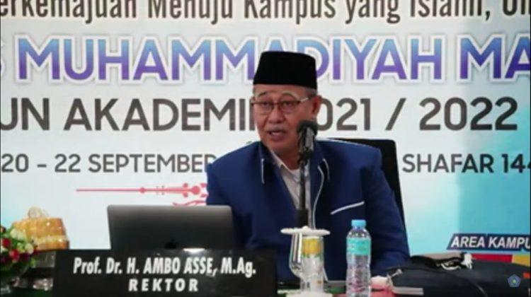Universitas Muhammadiyah Makassar Gelar Orientasi Akademik