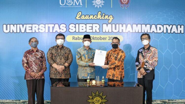 Launching Universitas Siber Muhammadiyah oleh Prof Haedar Nashir