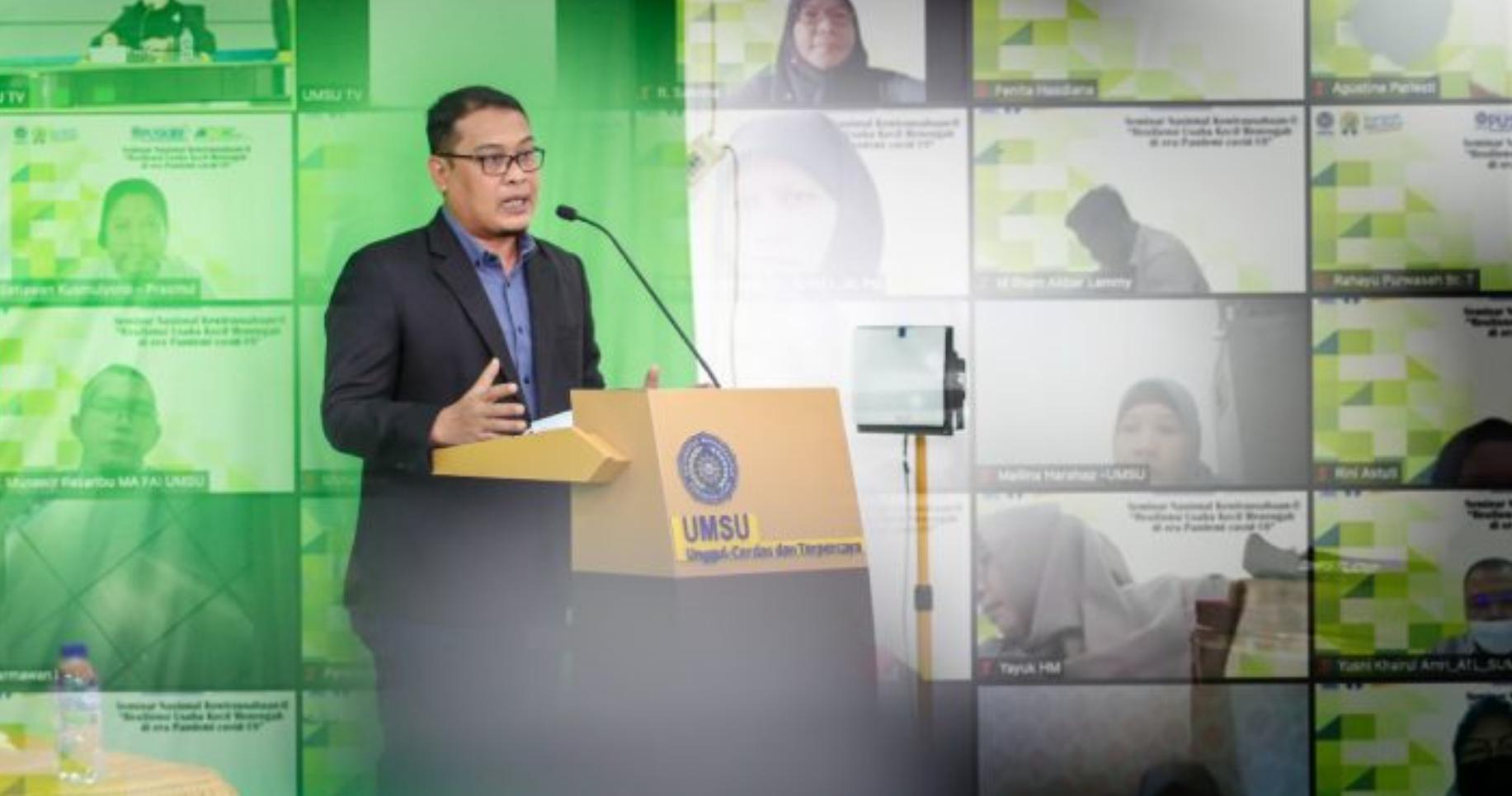 Seminar Nasional Kewirausahaan UMSU Serukan Resiliensi